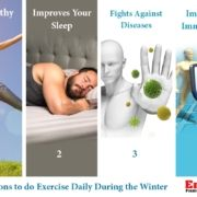 Top 4 Reasons to do Exercise daily During the Winter