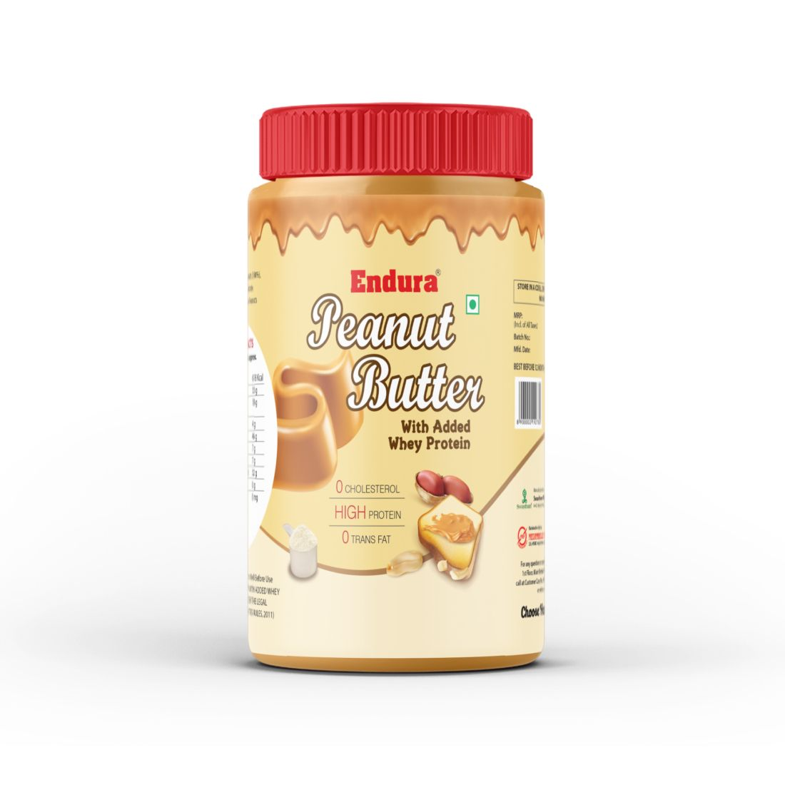 peanut butter with added whey 907g