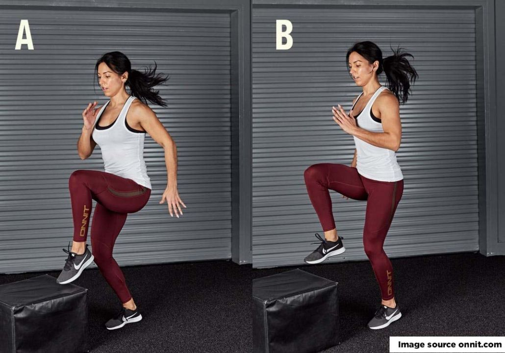 HIIT for women exercise
